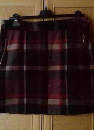 Теплая фирменная юбка george.