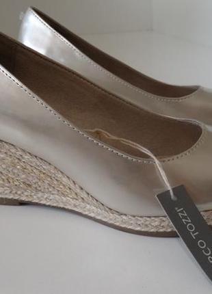 Туфли на платформе marco tozzi