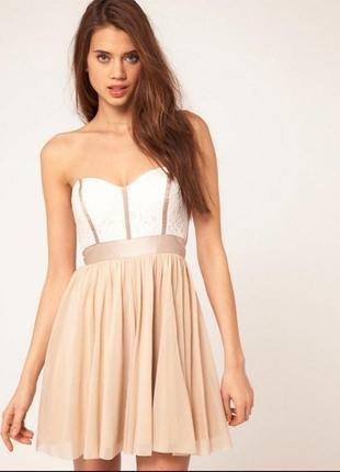 Нарядное платье-бюстье