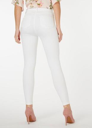 Белые брюки,джегинсы dorothy perkins