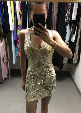 Оригинальное платье bebe.