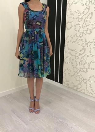 Красивое летнее платье natali bolgar, размер 36