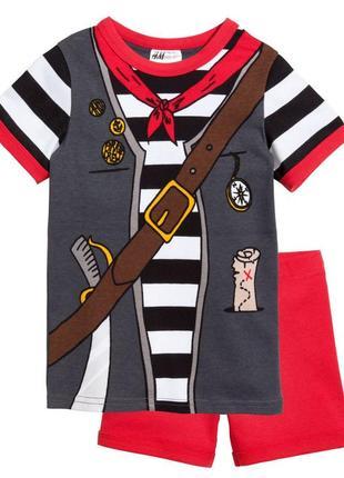 Новая пижама для мальчика пират, h&m, 05063670011