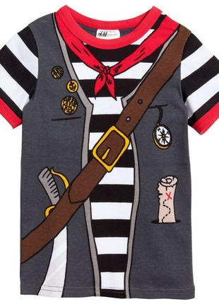 Новая пижама для мальчика пират, h&m, 05063670014