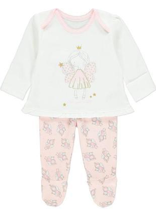 Новая пижама для девочки розовая фея, george, 5855851