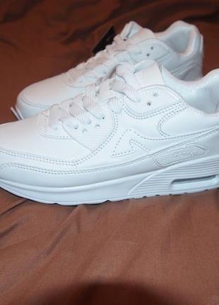 ... Білі кросівки в стилі nike air max (белые кроссовки) 38 - 37.5 - 374 ... 1c128bb97c9c2
