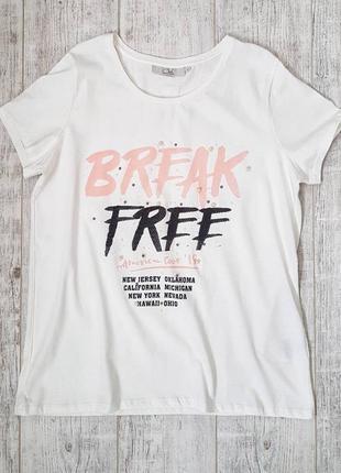 Женская футболка с&а