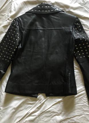 Натуральная кожаная куртка не кожзам новая! antonio rossini3