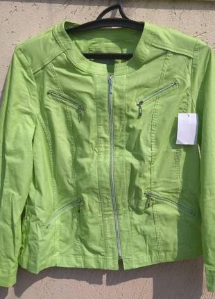 Куртка плащ пиджак, размер 46