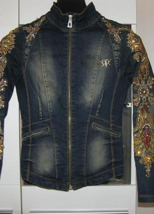 Джинсовый пиджак raw