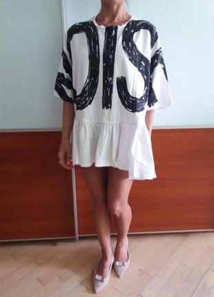 Сукня-туніка zara