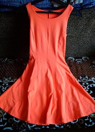 """Супер платье яркого цвета""""incity"""""""