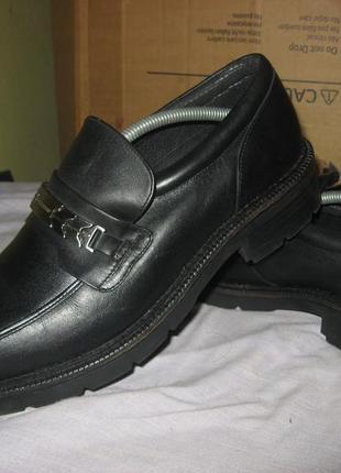 Ботинки туфли kickers из натуральной кожа 44 размер новые