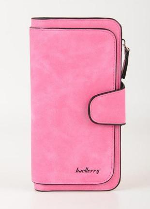Женский кошелек baellerry forever темно-розовый