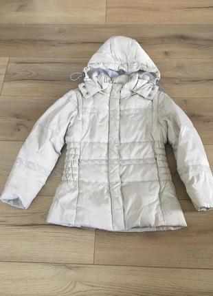 Зимняя куртка-пуховик geox 6 лет