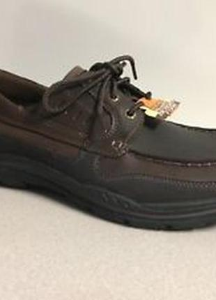 Туфли skechers usa men´s expected gembel relax fit oxford р. 41-47