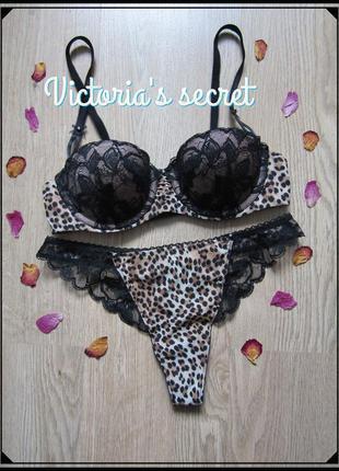 Красивый комплект белья victoria's secret.