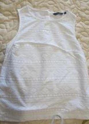 Белая  блузка new look
