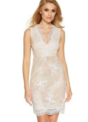 Шикарное нарядное платье с пайетками м- размер