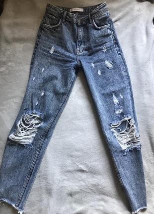 Винтажные джинсы zara vintage