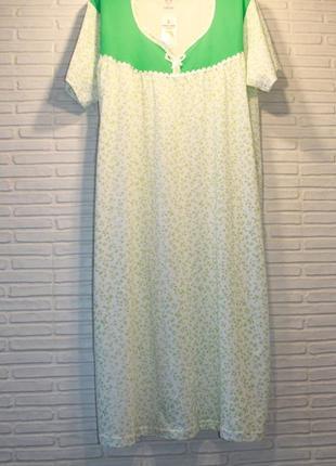Ночная рубашка нічнушка ночнушка ночная сорочка подарок, нічна 100х/б 50-52 =130см объема