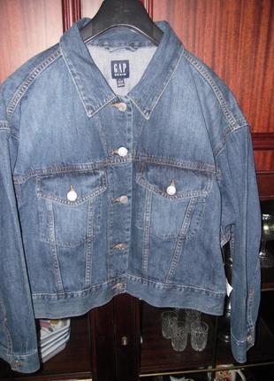 Gap куртка жен. короткая новая 52-54