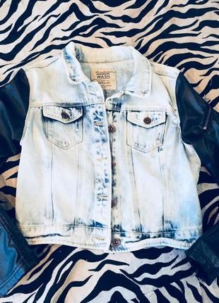 Джинсовая куртка,джинсовка zara