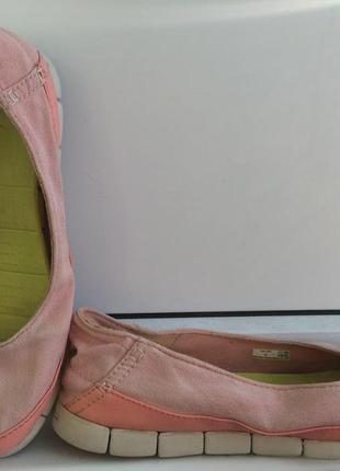Балетки туфли crocs stretch sole 39 размер