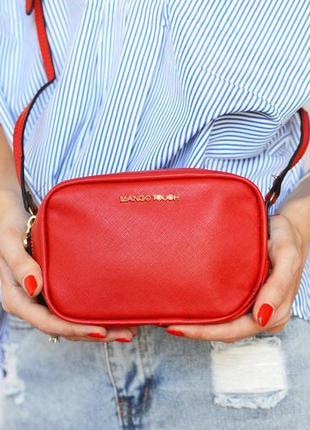 Женская маленькая сумочка mango