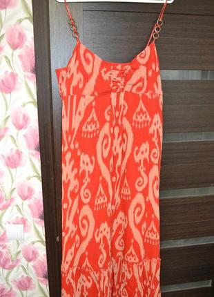 Необычное длинное платье от marks&spencer