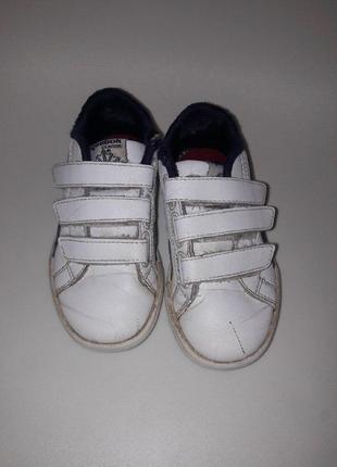 Кожаные кроссовки reebook (оригинал)