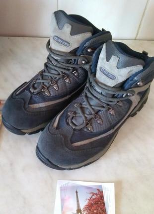 Ботинки hi - tec с waterproof 39 р 24.5 см hi-tec