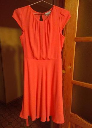 Яркое лёгкое платье