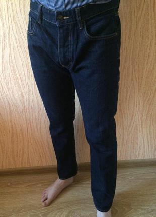 Темно-синие джинсы easy