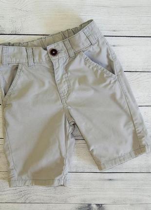 Стильные хлопковые шорты f&f для мальчика 5-6 лет 116 рост.