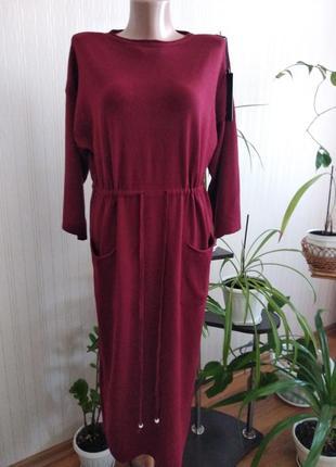 Платье теплое размер м- л