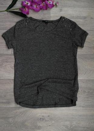 Стильная футболка с шипами tally weijl.