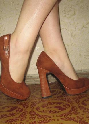 Туфли фирменные1 фото