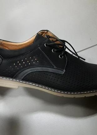 46 49 29-32 см мужские туфли мокасины осень весна перфорация чоловічі туфлі  мокасини 1b92f70589374