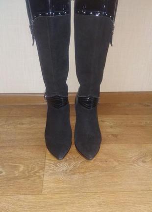 Итальянские демисезонные сапожки(ботинки, ботфорды)