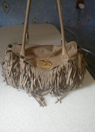 Кожаная сумочка индия