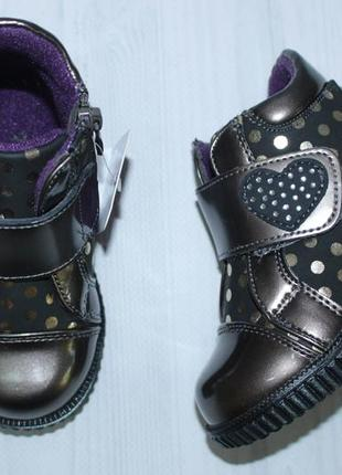 754eb28c7 Демисезонные ботинки на девочку тм том. м, р. 22, 23, 24, 25, 26 Tom ...