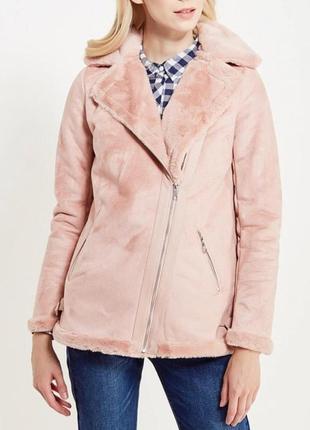 Искусственная дубленка куртка косуха