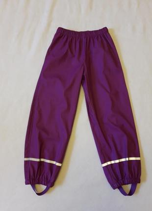Полукомбинезон, дождевик, штаны фирмы lupilu ( германия) р. 122-128