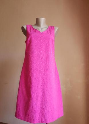 Красивое платье  хлопок next британия