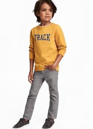 Модные джинсовые брюки h&m 4/5, 5/6 и 6/7 лет