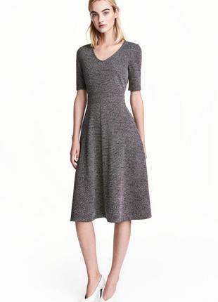 Платье с коротким рукавом h&m 461802 m