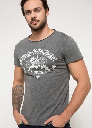 2-1 новая мужская футболка defacto размер m известная турецкий бренд