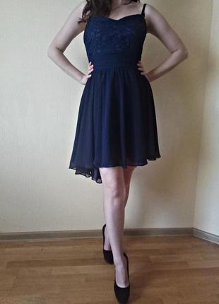 Обалденное вечерние платье. новое с биркой.