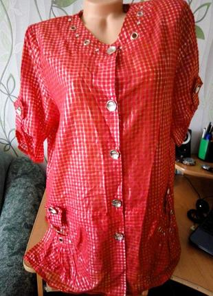 Супер блузка-рубашка